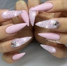 best 25 pink stiletto nails ideas on pinterest stiletto nails