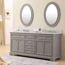 Double Sink Vanities For Small Bathrooms by 72 Inch Traditional Double Sink Bathroom Vanity Gray Finish