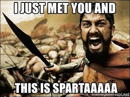 Sparta Meme Generator - this is sparta meme caption meme generator