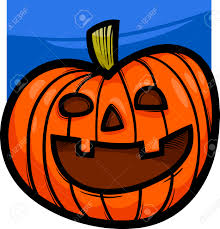 spooky clip art cartoon illustration of spooky halloween pumpkin clip art royalty