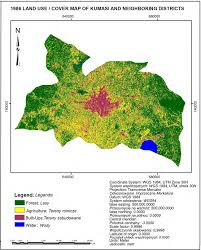 Net Use Map Drive Land Use Dynamics In Rural Urban Environs A Study Of The Kumasi