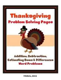 thanksgiving dinner project based learning decimals critical