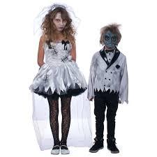 Girls Zombie Halloween Costume Flower Zombie Costume Buycostumes