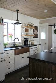 kitchens with white cabinets and dark counters modern cabinets