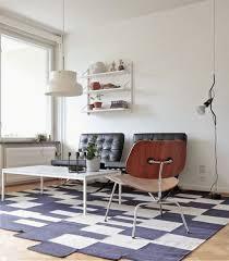 blue and green color schemes for classic retro interior design