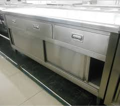 Under Table Cabinet Small 3 Drawer Cabinet Under Table Home Commercial Kitchen