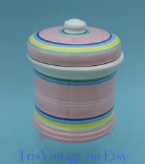 italian kitchen canisters painted caleca italian ceramic flour canister caa34