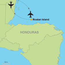 map of roatan honduras roatan island stay customizable itinerary