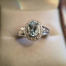 antique aquamarine engagement rings shop vintage aquamarine engagement rings on wanelo