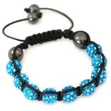 shamballa bead bracelet images Turquoise crystals clay beads shamballa bracelet ephori london jpg