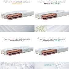 materasso memory silver materasso soia memory alto 25 cm per dormire bene