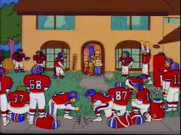 Memes De Los Broncos - super bowl cuando homer simpson se lamentaba por ser el due祓o de