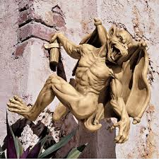 gaston the climbing gargoyle statue gargoyles