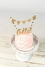 cake banner topper one cake topper birthday cake topper one smash cake set