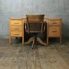 Antique Swivel Office Chair by Vintage Oak Swivel Desk Chair Mustard Vintage