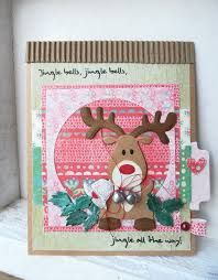 christmas card by dt member boukje with collectables eline u0027s