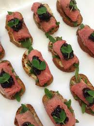 beef canape recipes canapes cloud 9 event management