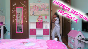 surprise bedroom makeover youtube