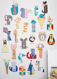 alphabet wall art crafting for kids docrafts com alphabet