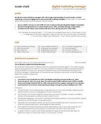 10 best digital marketing cv examples u0026 templates