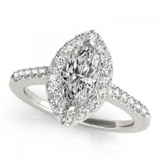 marquise diamond engagement rings 3 carat flat sphere marquise diamond sidestones engagement ring in