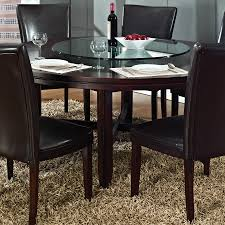 shop steve silver company hartford wood round dining table at