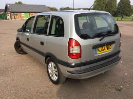 vauxhall zafira 2004 2004 54 vauxhall zafira 1 6 life mpv 7 seats u2013 castle cars and