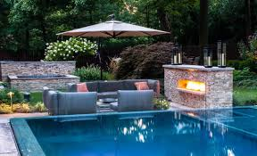 get many advantages by improving your patio with swimming pool