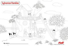 calico critters coloring pages snapsite me