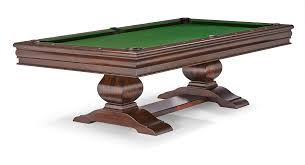 Antique Brunswick Pool Tables by Mackenzie