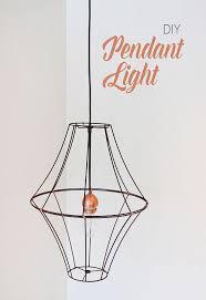 Diy Dining Room Lighting Ideas Diy Lshade Pendant Light Hometalk