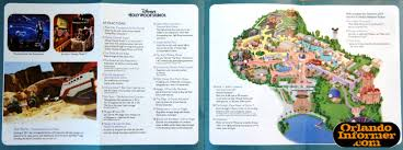 Map Of Hollywood Studios 2011 Walt Disney World Vacation Brochure Let The Memories Begin