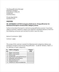 ideas collection business reference letter for construction