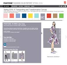 Pantone Color Pallete Nyfw U2013 Pantone Spring 2016 Color Report Yoana Baraschi