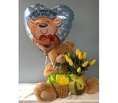get well soon balloons delivery get well soon in portland or portland florist shop