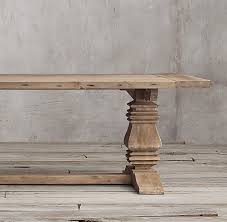wood rectangular dining table wood trestle rectangular extension dining table