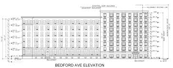 nine stories of affordable housing headed for 1350 bedford avenue