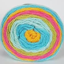 caron cakes yarn rainbow sherbet 17023