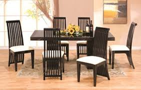 Italian Lacquer Dining Room Furniture 7 Pcs Modern Italian Marble W Black Lacquer Dining Room Set