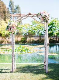 wedding arbor kits crafted rustic birchwood arbor diy wedding arbors and birch
