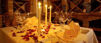 Candle Light Dinner Candle Light Dinner In A Romantic Hotel For Romantic Hours For Two