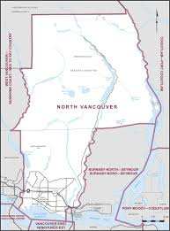 Map Vancouver Canada by North Vancouver Maps Corner Elections Canada Online