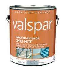 valspar latex porch u0026 floor paint non glare low sheen paint