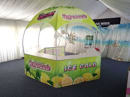 Custom Printed Canopy Tents by Hexagon Promotional Booth Tent Dome Tents Lemonade Stands