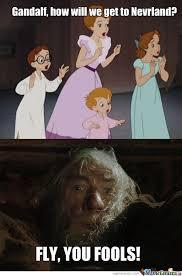Peter Pan Meme - a better peter pan by rorschach meme center