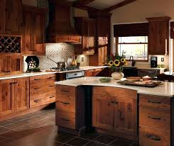 Furniture Style Kitchen Cabinets Hickory Kitchen Cabinets Rustic Hickory Kitchen Cabinets Solid