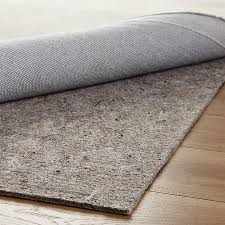 multisurface 8 u0027x10 u0027 thick rug pad crate and barrel