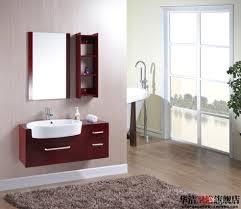 2017 special promotions oak bathroom cabinet wood floor washbasin