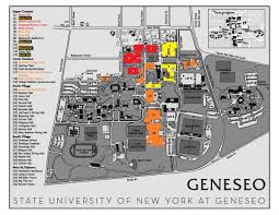 Ub North Campus Map Suny Geneseo Map Image Gallery Hcpr