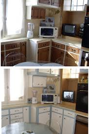 peinture pour formica cuisine meuble cuisine formica marron meilleur idées de conception de